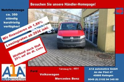 """VW T6 Transporter 2.0 TDI T6.1, 4MOTION 3400mm elAu*elFe*AB*HK* Außenspiegel elektrisch und beheizbar, Beifahrerairbag, Gummibodenbelag im Fahrerhaus, elektrische Fensterheber, Radio """"Composition Audio"""""""