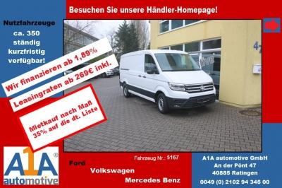 VW CRAFTER 30 Kasten 3640mm 4MOTION *elAu*Rrad*DoSi*BT* Berganfahr-Assistent, Seitenwind-Assistent, Fensterheber elektrisch, Zentralverriegelung mit Fernbedienung, Multifunktionsanzeige Plus