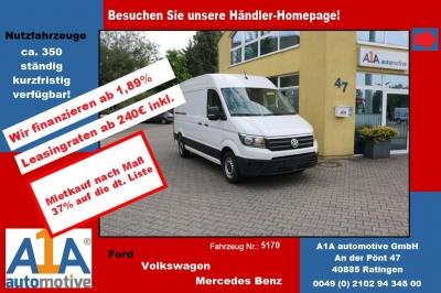 VW CRAFTER 30 Kasten 2,0 TDI3640mm *elAu*BT*Rrad*DoSi* Berganfahr-Assistent, Seitenwind-Assistent,Fensterheber elektrisch, Zentralverriegelung mit Fernbedienung, Beifahrerdopplesitz