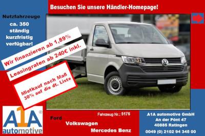 """VW T6 Transporter T6.1 PritscheEiKa *Rrad*Kli*elAu*BT* Airbag Beifahrerseite, Pritschenaufbau, Klimaanlage, Radio """"Composition Audio"""", Außenspiegel elektrisch,Fensterheber elektrisch, Zentralveriegelung"""