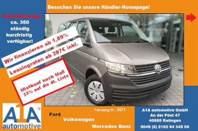 VW Caravelle 6.1 Trendline lang * CC*ML*PDC*Rrad*Kli* Tempomat, Heckflügeltüren mit Verglasung, Isofix-Aufnahmen für Kindersitz, Klimaautomatik Climatronic, Lederlenkrad mit Multifunktion, Park-Distance-Control