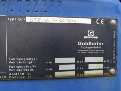 GOLDHOFER Satteltieflader STZ/VL-3 Tele