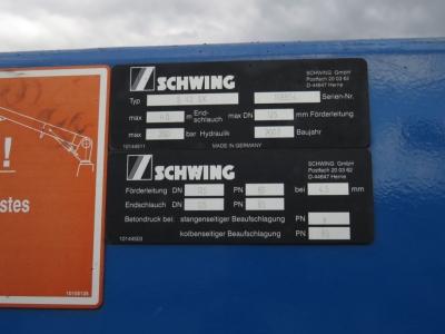 MAN TG-A 41.400 8x4 BB Schwing 42m, 4100h, top