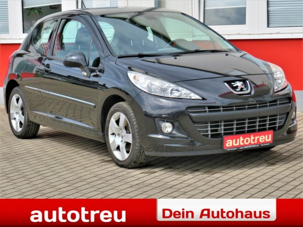 Peugeot 207 Premium 1.Hand Klimaaut. Allwetter PDC ALU