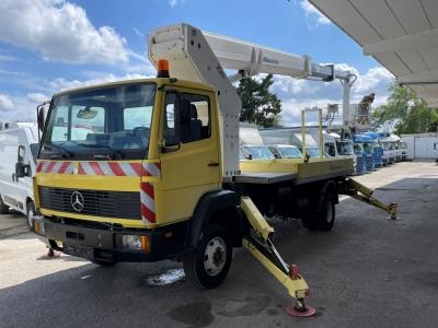 Mercedes-Benz 814 Ruthmann T230 25m 2-fach hydr. Ausschub Korb