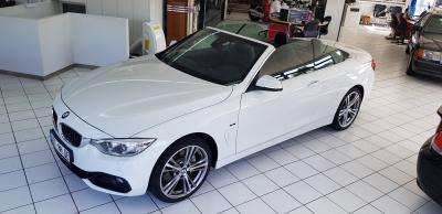 BMW 435 dA xDrive Cabrio Sportline HUD Nav Xen Led